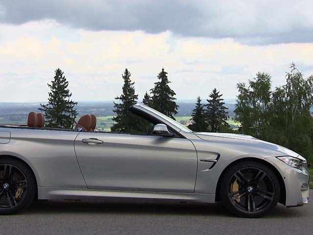 Video : BMW M4 Convertible - Interiors