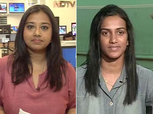 Video : My Confidence High, Have Coaches to Thank: PV Sindhu to NDTV
