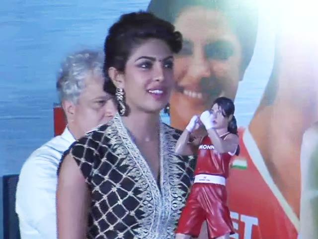 Priyanka Chopra Unveils Mary Kom Doll