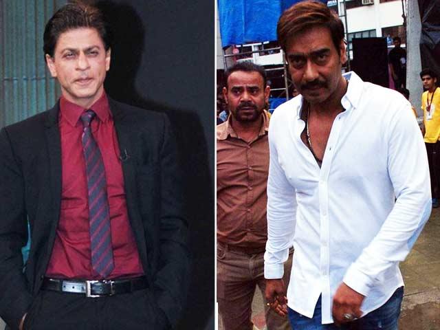 Shah Rukh Khan, Ajay Devgn's Trailer Truce