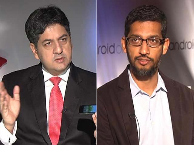 Video : Watch: NDTV Exclusive - First Look at Rs. 6,399 Android One Smartphones