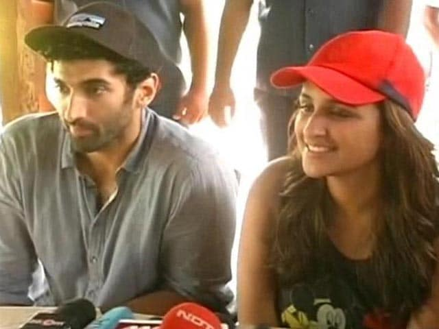 Video : A Royal Feast for Daawat-e-Ishq Stars