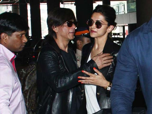 Video : Sky High: On the SLAM! Plane With SRK, Deepika