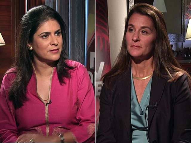 Video : Watch: The NDTV Dialogues with Melinda Gates - The Art Of Giving