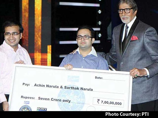 Kaun Banega Crorepati Gets its First Seven Crore Winner in Two Brothers