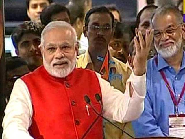 Video : We Have Gone Beyond Boundaries of Human Imagination: PM at ISRO