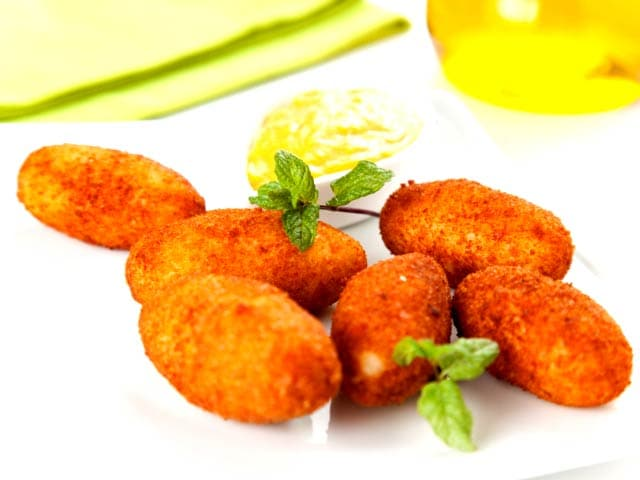 Eggplant Croquettes - NDTV Food Videos