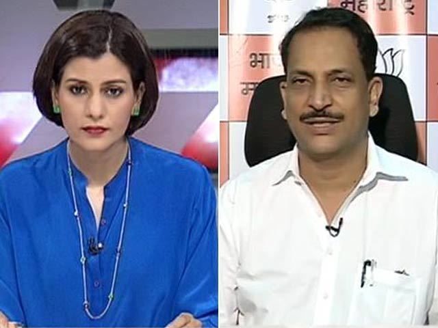 Video : Watch: BJP Rules Out Post-Poll Alliance With NCP in Maharashtra