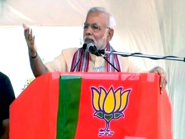 Video : 'Won't Speak Against Sena as Mark of Respect for Balasaheb': PM Modi