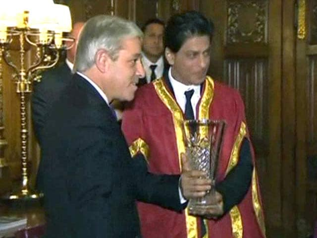 Video : Shah Rukh Khan Takes London By Storm