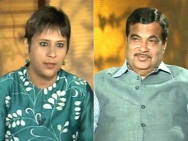 Video : I Said Nothing Wrong: Nitin Gadkari to NDTV on Election Commission Notice