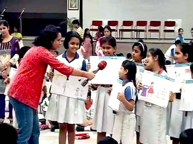 Video : School Children of Jaipur and Ahmedabad Celebrate Global Handwashing Day