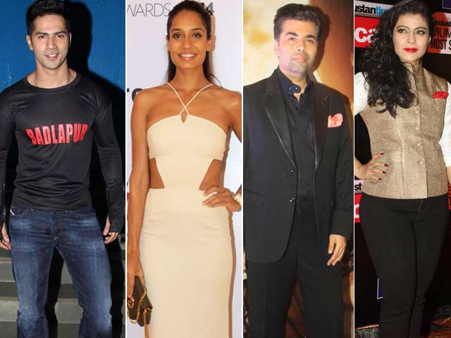 Video : Kajol, Karan Johar Are Friends Again, Varun Dhawan, Lisa Haydon More Than Friends