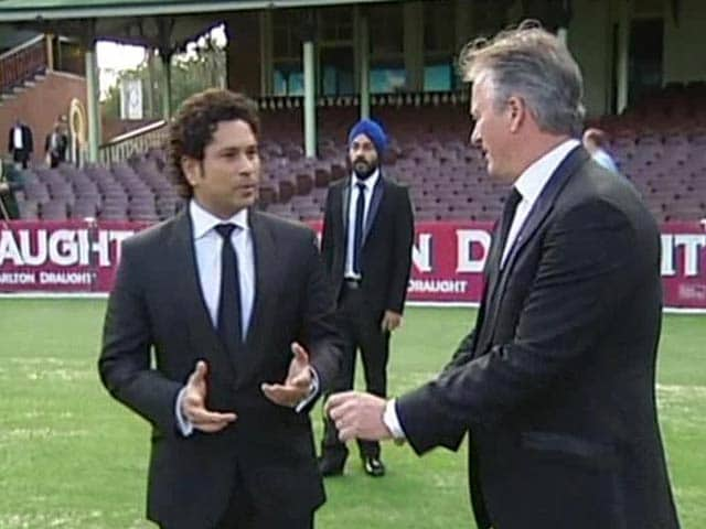 Sachin Tendulkar Inducted Into Don Bradman Hall of Fame