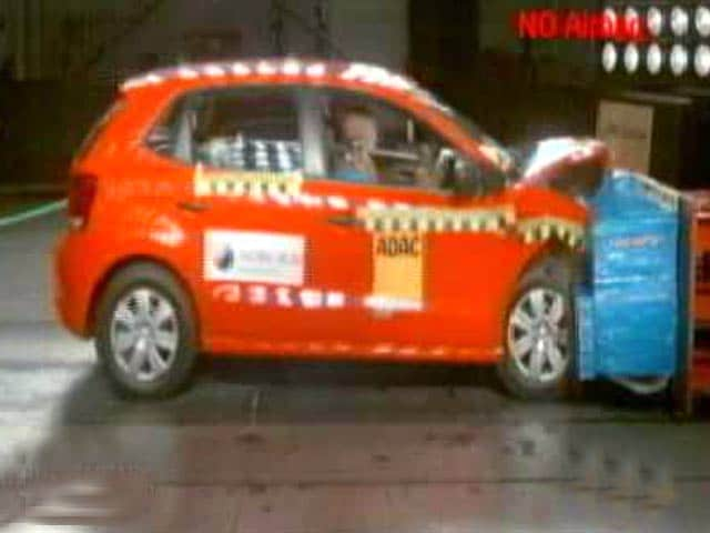 Video : Global NCAP Car Crash Test Results for India - Year 1