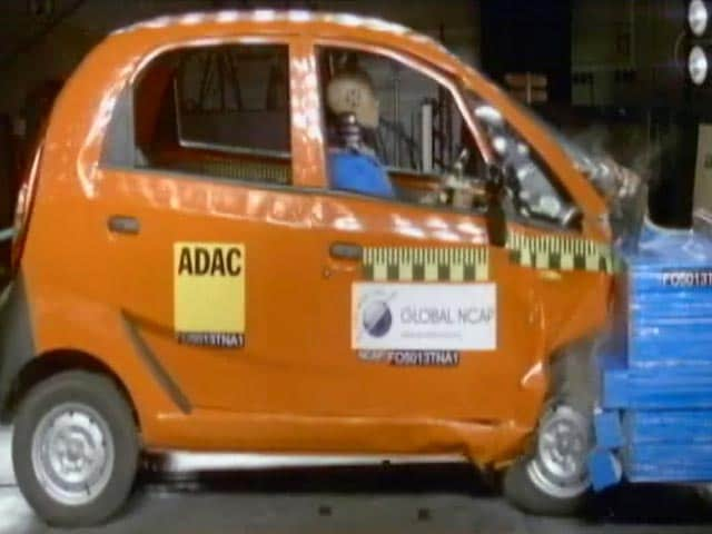 Video : क्रैश टेस्ट में भारतीय कारों का प्रदर्शन