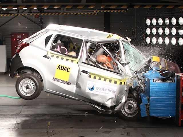 Video : NDTV Exclusive: Maruti Suzuki Swift and Datsun Go Fail Crash Tests