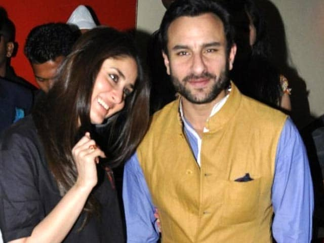 Saif Buys Book for Unborn Child