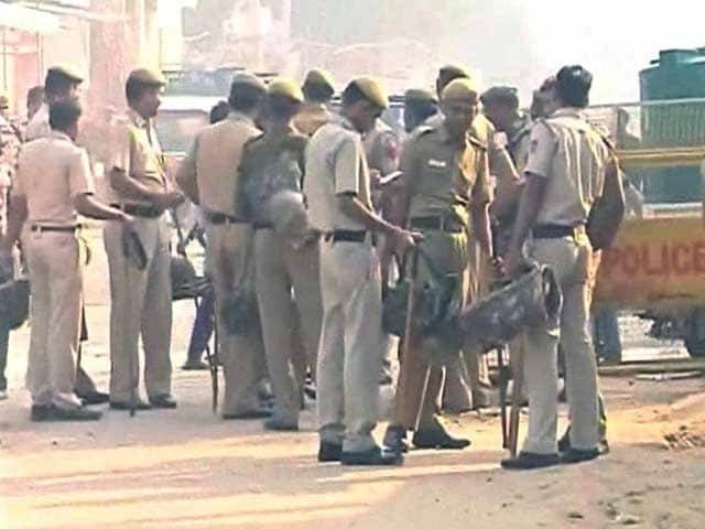 Video : Delhi's Bawana Tense on Muharram, Police Keeping a Close Watch