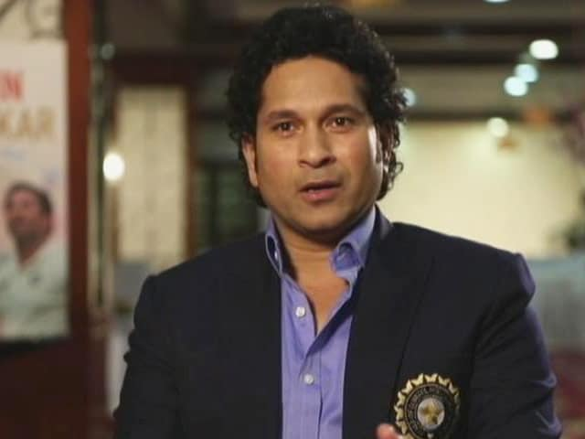 Video : Sachin Tendulkar on How Fatherhood Changed his Life