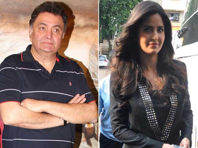 Video : Katrina Kaif Visits Ranbir's Father Rishi Kapoor