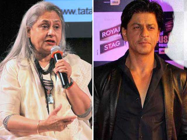 Video : Shah Rukh Khan Annoyed By Jaya Bachchan's <i>Happy New Year</i> Comment