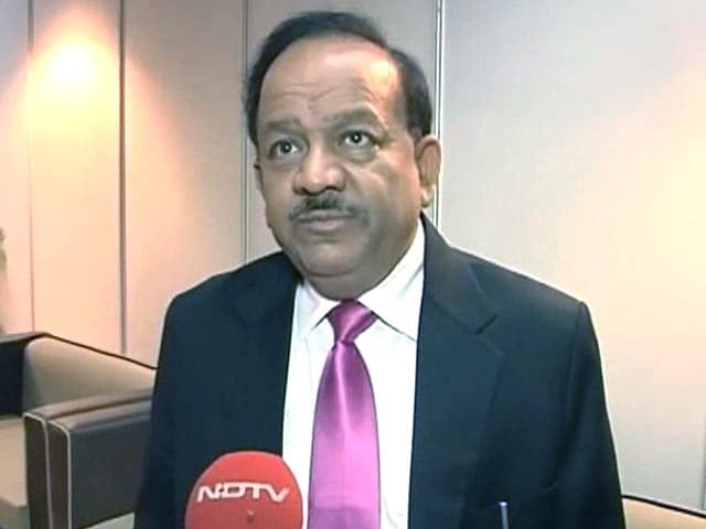 Video : Concerned About Corruption in Medical Council of India: Harsh Vardhan to NDTV