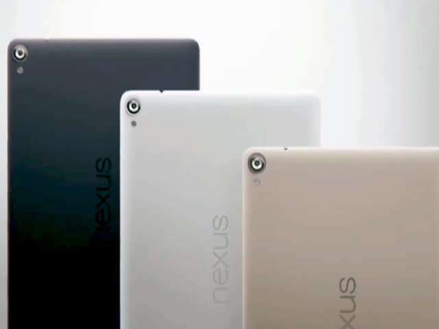 Video : Google Nexus 9: First Impressions