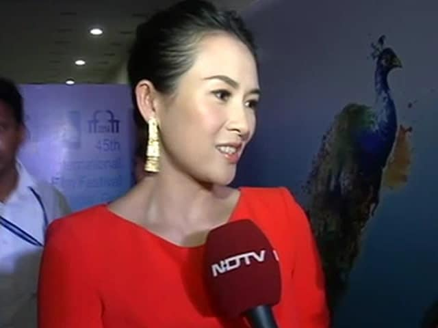 Video : Zhang Ziyi Says Namaste to India