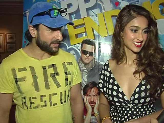 Saif Ali Khan Tries To Revive Premiere Culture With Happy Ending