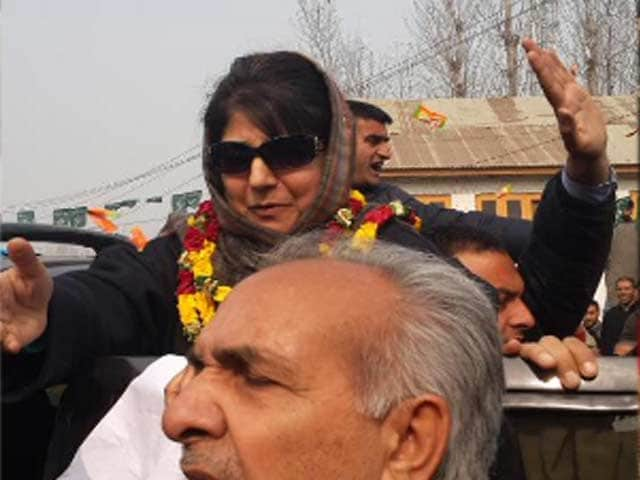 Video : On the Campaign Trail With Mehbooba Mufti