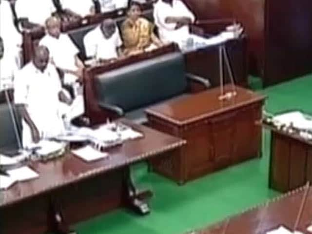 Video : Reserved for Jayalalithaa, An Empty Chair And Old Title