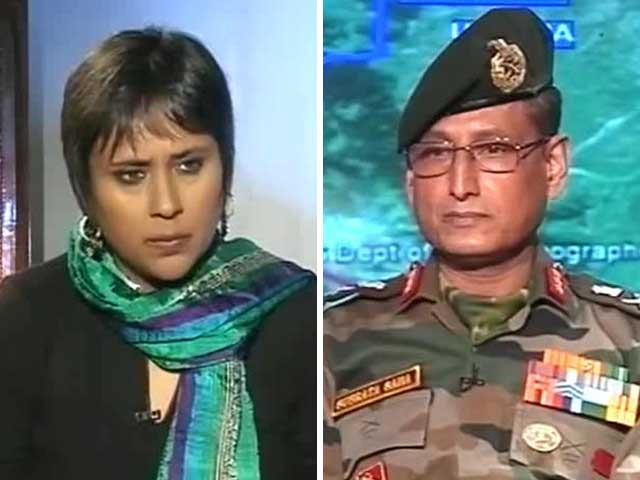 Video : 'Unambiguous Pakistan Hand In Attacks': Kashmir Corps Commander to NDTV