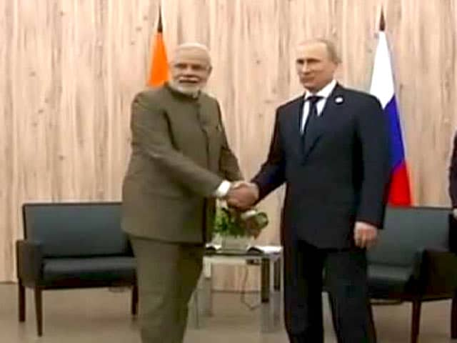Video : PM Modi Meets President Putin As Both Nations Seek to Take Ties to Next Level