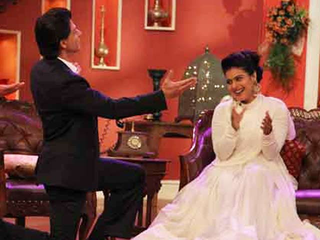 Video : Sneak Peek: Shah Rukh, Kajol on Comedy Nights With Kapil