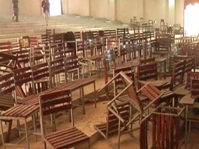 Video : Inside the School Where Young Children Were Shot