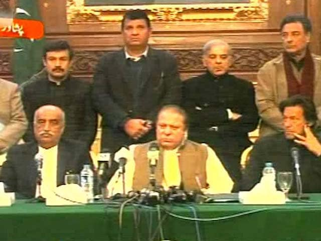 Video : Will Wage War on Terror Till Not a Single Terrorist Left in Pakistan: Nawaz Sharif