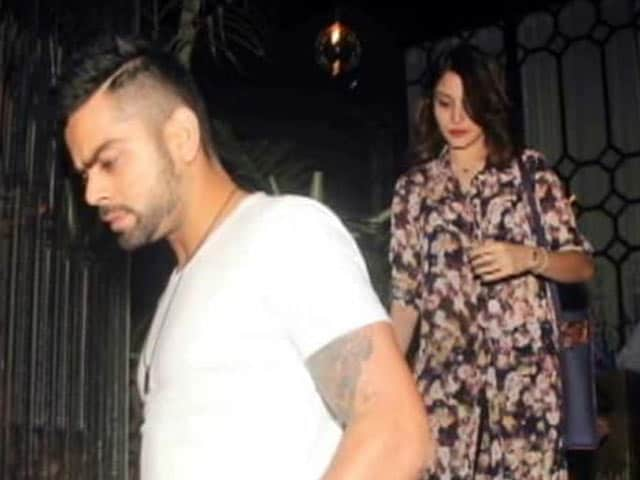 Happy Holidays For Anushka and Virat