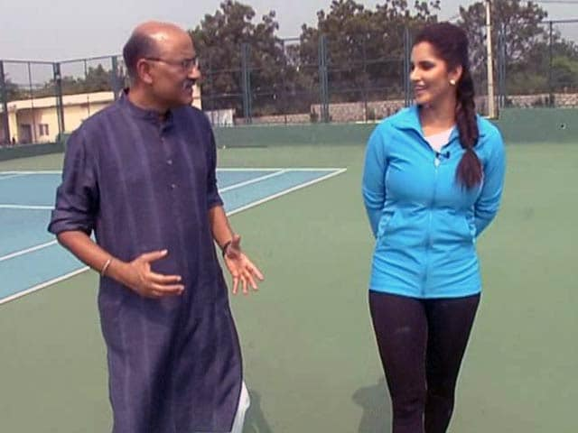 Video : Walk The Talk With Tennis Star Sania Mirza