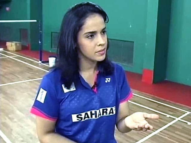 Video : Saina Nehwal Says Was Not Angry Over Padma Award Issue