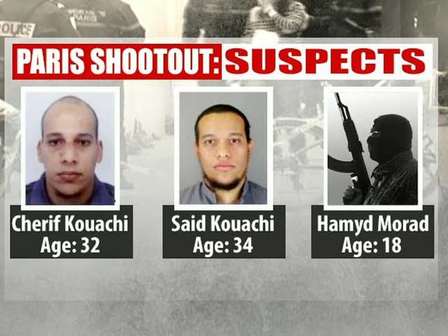 Video : Charlie Hebdo Attack: Two Missing Suspects Robbed Gas Station, Says Local Media