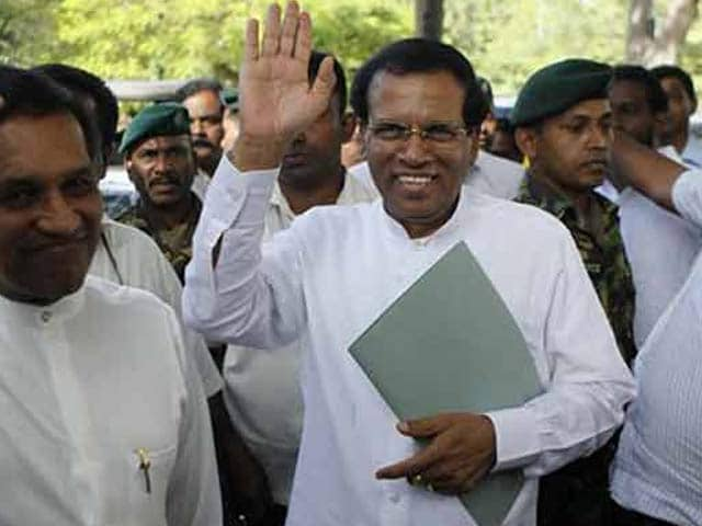 Video : Sri Lanka Verdict: Maithripala Sirisena Trounces Mahinda Rajapaksa, Sworn-In as President
