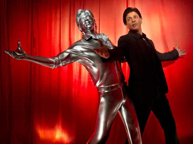 SRK Immortalized in 3D Lifesize Print Model