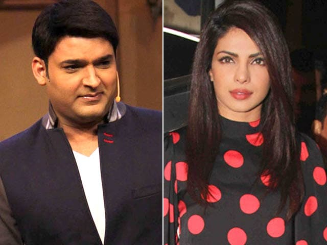 Kapil Sharma Clears Rumours of Fight With Priyanka Chopra