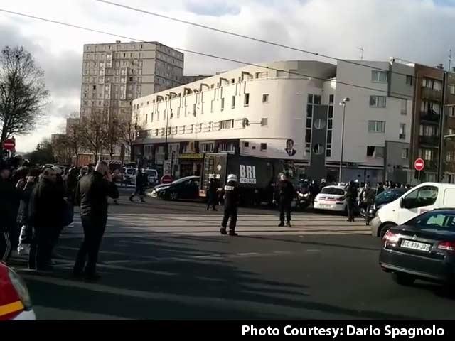 Video : Paris Hostage Terror at Post Office