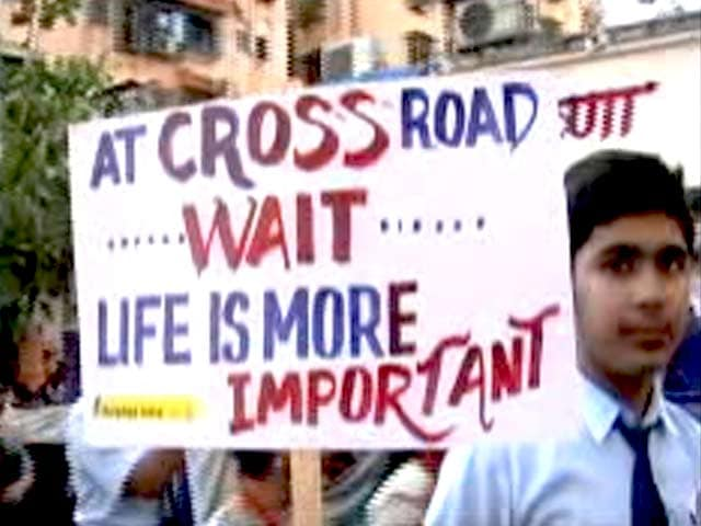 Video : Road Safety Week: An Initiative to Make India's Roads Safer