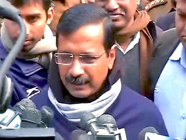 Video : After Nominations, Arvind Kejriwal Appeals to People of Delhi for Support