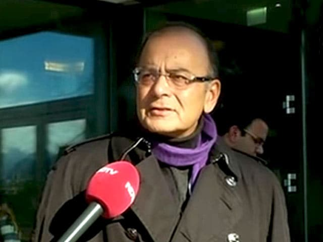 Video : A Lot of Enthusiasm About India at Davos: Jaitley