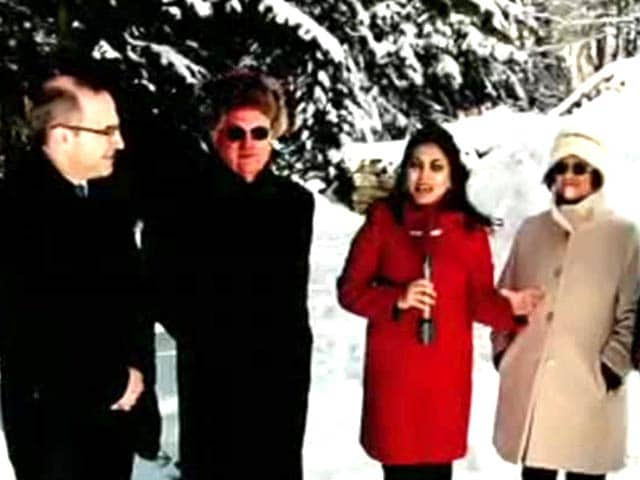 Video : Davos: World Economic Forum Day 1