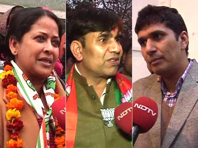 Video : Delhi Polls: Greater Kailash Lines Up For Triangular Contest